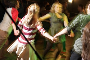 Dashing white sergeant ceilidh dance