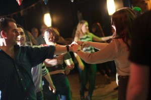 left hand star ceilidh move